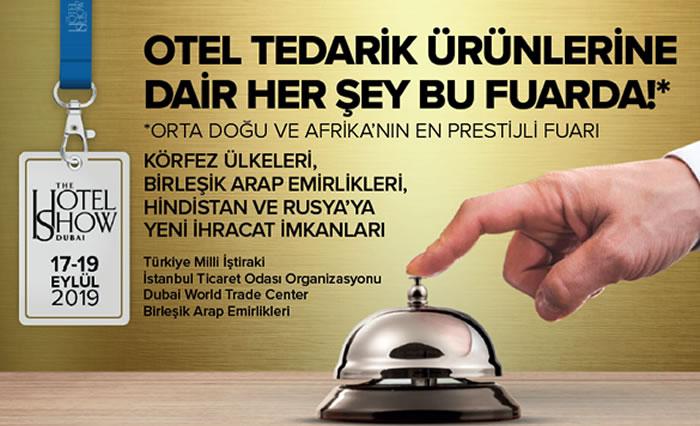 OTEL TEDARİK ÜRÜNLERİNE DAİR HER ŞEY BU FUARDA!